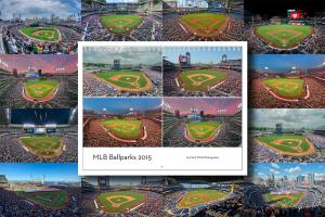 2015 MLB Ballparks Calendar is Available