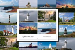 2015 Lighthouses Calendar is available